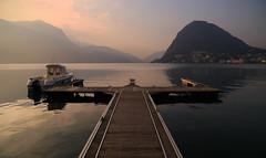 Peaceful sunrise... (Alex Switzerland) Tags: landscape outdoor paesaggio paysage water lugano ceresio lake luganese switzerland svizzera schweiz see canon eos 6d alba aube sunrise