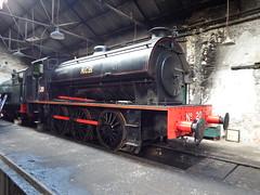 N.C.B 20 steam locomotive. (mk3seh) Tags: ncb steam locomotive loco tanfield railway 20