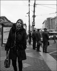 DR151210_0703D (dmitry_ryzhkov) Tags: stop terminal station look looks eyecontact contact eye one woman women lady sony alpha black blackandwhite bw monochrome white bnw blacknwhite day motion movement walk walker walkers pedestrian pedestrians sidewalk art city europe russia moscow documentary journalism street streets urban candid life streetlife citylife outdoor outdoors streetscene close scene streetshot image streetphotography candidphotography streetphoto candidphotos streetphotos moment light shadow people citizen resident inhabitant person portrait streetportrait candidportrait unposed public face faces eyes