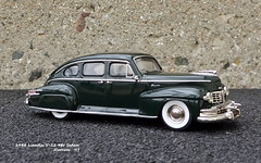 1948 Lincoln V-12 4dr Sedan (JCarnutz) Tags: 143scale diecast wmce 1948 lincoln v12