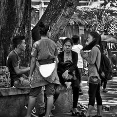 Discussion (Beegee49) Tags: street student sitting discussing bacolod city philippines