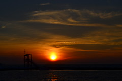 İzmir-Turkey (Betül DOĞAN) Tags: sky sunset landscape luz light flickr puestadelsol izmir turkey outdoor sea mar sun türkiye turquia azul