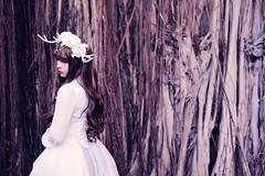 SDF_2092 (SendoFu) Tags: bonnet ボンネット エプロン風スカート blouse bl ブラウス headbow kc カチューシャ bnt 蕾絲 維多利亞 jsk op onepiecedress ワンピース jumperskirt ジャンパースカート nop lolita lolitafashion 蘿莉塔 蘿莉塔時裝 ロリータ・ファッション sweetlolita classicallolita