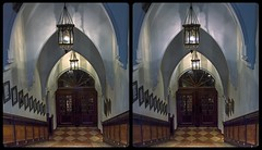 Gothic Revival Style Architecture 3-D / CrossEye / Stereoscopy / HDR / Raw (Stereotron) Tags: bavaria bayern munich münchen architecture gothic gotik neugotisch gothicrevivalstyle quietearth crosseye crosseyed crossview xview cross eye pair freeview sidebyside sbs kreuzblick 3d 3dphoto 3dstereo 3rddimension spatial stereo stereo3d stereophoto stereophotography stereoscopic stereoscopy stereotron threedimensional stereoview stereophotomaker stereophotograph 3dpicture 3dglasses 3dimage twin canon eos 550d yongnuo radio transmitter remote control synchron kitlens 1855mm tonemapping hdr hdri raw
