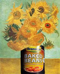 Sunflowers take goodness knows how many (amy's antics) Tags: wah wearehere bakedbeans sunflowers vangogh