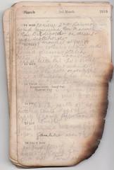 22-28 Mar 1915 (wheresshelly) Tags: ww1 wwi world war 1 australia gallipoli egypt military australian 4th field ambulance anzac morton wilfred