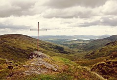 Always Look Towards the Sea (Poet for Life) Tags: cross ireland grass hills landscape sea