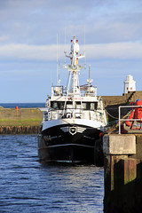 Sparkling Line (North Ports) Tags: wick caithness mmsi 235040121 harbour bay berthed moored river wk4 fishing vessel registered