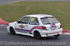 Classic Stock Hatch - R2 (9) Martin Cayzer (Collierhousehold_Motorsport) Tags: 750mc 750motorclub 750 snetterton snetterton300 classicstockhatch gti peugeot citroen vauxhall saxo stockhatch ford