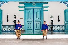 Palace guards (adnanalley) Tags: indonesia surakarta java central culture keraton