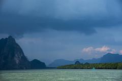 storm (Greg Rohan) Tags: stormbrewing blue phangngabay sky water landscape sea d7200 2017 photography storm thailand