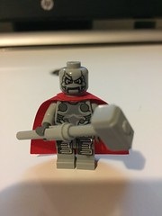 DC's Steel (Numbuh1Nerd) Tags: lego purist custom minifigure dc comics superhero superheroes john henry irons superman shaq
