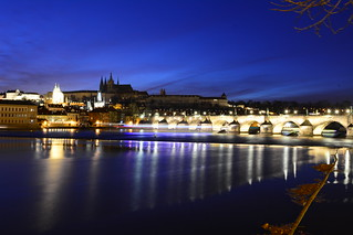 Vltava night shot