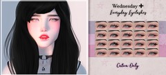 Wednesday[+] Everyday Eyelashes @The Coven (мιĸo ѕнιɴ Do ~ Wednesday[+]) Tags: catwa eyelashes bento wednesday the coven