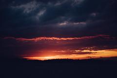 last glow (kentgeiner) Tags: sunset cossi lake clouds sky himmel wolken raw orange golden goldenhour reflection reflections dramatic epic beautiful landscape nikon nikonraw d750 nikond750 lightroom photoshop dark darkness red blue colors color kontrast contrast