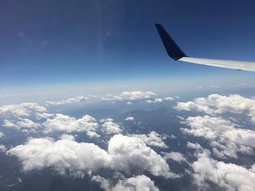富士山は、雲の中