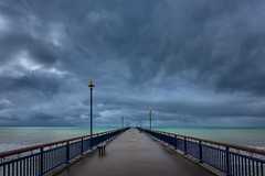 Into the Storm (Daniel.Peter) Tags: christchurch nz neuseeland newbrightonpier newzealand dpe3x pier