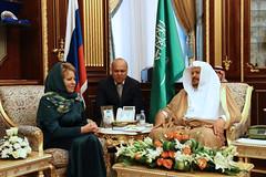 Встреча В. Матвиенко с Абдаллой Аш-Шейхом (The Council of Federation) Tags: советфедерации саудовскаяаравия