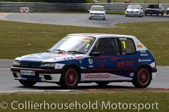 Classic Stock Hatch - R2 (19) Matt Rozier (Collierhousehold_Motorsport) Tags: 750mc 750motorclub 750 snetterton snetterton300 classicstockhatch gti peugeot citroen vauxhall saxo stockhatch ford