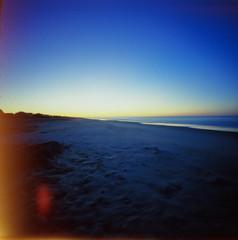 take me back (busyclickn) Tags: zeroimage zeroimage2000 pinhole ocean beach sunrise kodakektar kodak film canoscan9000f