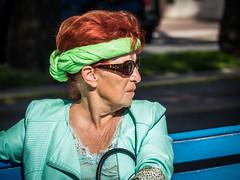 Portrait femme (totofffff) Tags: cannes croisette french riviéra street portrait em1 zuiko 14150 ii film festival