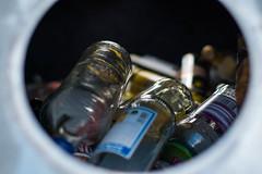 trashcrash. (maxgrosser) Tags: sony a6000 minolta af 50mm glas glass trash müll container licht schatten