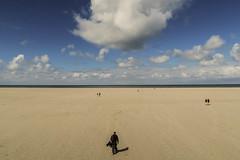 Verso l'ignoto (Clarissa Canepari) Tags: canon minimal mare paesaggio landscape orizzonte ignoto solitudine westerhever germania germany beach see spiaggia
