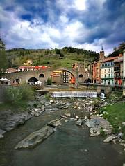 Camprodon (carlesbaeza) Tags: bridge pont puente poble pueblo village catalunya catalonia beautifulimages camprodon