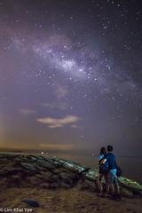 Milky Way (Dexlim) Tags: milkyway stars sea seashore beach