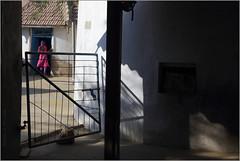 girl, dhordo (nevil zaveri ( thank you for 10 million+ views : )) Tags: zaveri gujrat photography blog india dhordo village hut mudhouse people images stockimages kutch kutchh kuchchh photographer photos grk greaterrannofkutch rann photograph photographs gujarat nevil nevilzaveri stock photo fakirani jat girl gate shadow sunlight sunlit door house home interior exterior bhunga