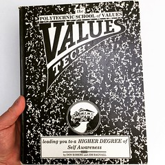 Values Tech (1976) by Don Koberg and Jim Bagnall (seanflannagan) Tags: values books vintagebooks 1976 70sbooks hippiebooks jimbagnall donkoberg designthinking designeducation education righteousness school softsystems wholeearthcatalog selfawareness systemsthinking