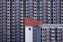 Array (rh89) Tags: blocks block flat flats symmetry geometry geometric shapes shape archi singapore hdb facade public housing crowded crowd selegie abstract detail tele telephoto sony a5100 skyline city cityscape urban view cbd central business district windows window