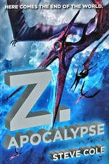 Z. Apocalypse (Vernon Barford School Library) Tags: stevecole stephencole steve stephen cole hunting thehunting 3 three 3rd third zapocalypse z apocalypse sciencefiction science fiction dinosaur dinosaurs dino dinos fathers sons parents children russia siberia virtualreality asia computers vernon barford library libraries new recent book books read reading reads junior high middle vernonbarford fictional novel novels paperback paperbacks softcover softcovers covers cover bookcover bookcovers 9780142427606