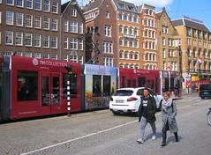 GVB tram NH Collection Hotels (streamer020nl) Tags: tram strassenbahn gvb damrak nh collection hotels amsterdam 2017 190417 holland nederland netherlands niederlande paysbas