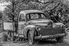 Retired (DC P) Tags: retired left abandoned truck pickup car oldtimer old vintage forgotten work working vehicle black blackandwhite blackwhite bw adventure beautiful canon dof eos explore end fantastic farm historic monochrome mono ngc noir outdoor outside pov travel transport village hdr classic bnw pretty decay auto street theperfectphotographer