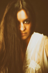 The truth can't hurt you it's just like the dark (*Photography by Mike*) Tags: portatrait woman