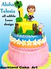ALOHA TELESIA (Anita (Auckland Cake Art)) Tags: luau dora explorer 1 first palm tree birthday wedding christening pacifica samoa newzealand cake cakes auckland boys girls chocolate 21st baby shower