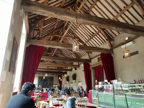 Having Lunch in the Orangerie at Chateau Cheverny