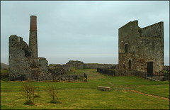 Old mine works (catb -) Tags: ireland chimney mine mining copper waterford