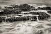 On the Rocks (FS_photos) Tags: california ca bw beach beautiful canon landscape fun outdoors blackwhite malibu american pacificcoast 28135mmis 60d leocarrillostatebeach
