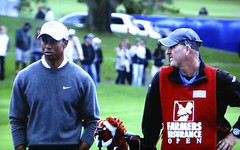 Torrey Pines GC (South) - Tiger Woods & Caddy Joe Lacava (rbglasson) Tags: california golf landscape tv torreypines lajolla canons5is