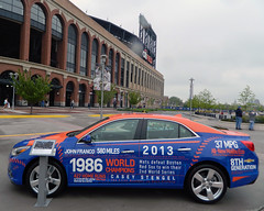 Mets Chevy at Citi Field (paul.hadsall) Tags: newyork car baseball chevy mets newyorkmets citifield
