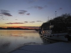 Winter sunset (roberteklund) Tags: sweden stockholm outdoor nofilter norrmlarstrand robertonthemove robertonthemovestockholm