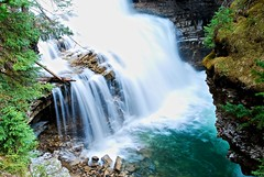 Johnston Canyon (p.whyte) Tags: canada waterfall falls alberta banff bowriver banffnationalpark johnstoncanyon
