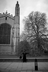 Photo (Daniel Pietzsch) Tags: uk cambridge england blackandwhite woman white black lumix photos witch g dmcgf1 14f25 lumixg14f25