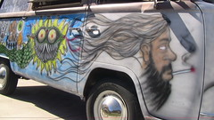 Picture 588 (violentj1983) Tags: bus vw airbrush vwbus crazybus carpoolchella airbrushbus busairbrush