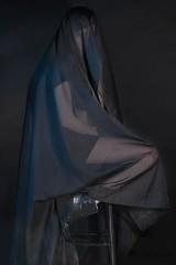 Modelling Footwear (Abitha_Arabella) Tags: black boot shoe veil rubber footwear footwearmodel