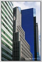 Green, grey, blue (SMassimo965) Tags: city newyorkcity blue windows urban usa newyork colors architecture arquitectura cityscape colore skyscrapers geometry blu unitedstatesofamerica ngc genoa architektur architettura finestre urbans statiuniti grattacieli archidose 400d canonefs1855mmf3556is 1855is canonians canonianiit massimo965 photographyforrecreation