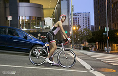 Street Racer (STERLINGDAVISPHOTO) Tags: cyclist biking dtla