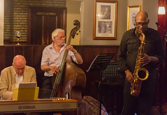 The Band (Peter J Dean) Tags: england music london pub singing unitedkingdom band piano jazz entertainment canonef2470mmf28lusm saxophone ealing doublebass roseandcrown canoneos5dmarkiii triciabowker